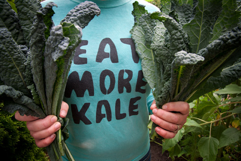 Eat More Kale Shirt 480